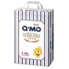 Q-MO подгузники Ultra Soft L (9-14 кг) 66 шт.