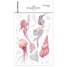 Miami tattoos Переводные тату Real Mermaid разноцветный