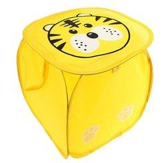 Корзина Наша игрушка Тигренок 43х43х43 см (10038) желтый