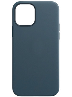 Чехол для APPLE iPhone 12 / 12 Pro Leather Case with MagSafe Baltic Blue MHKE3ZE/A
