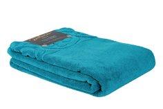 Банное полотенце Deluna Teramo синий 140x70 см (1 шт.)