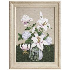 Набор для вышивания Таинство белых цветов 28 х 40см арт. М-280 Чарiвна Мить