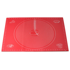 Коврик силиконовый 60*45 см для раскатки теста и выпечки Kamille