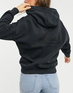 Худи черного цвета Quiksilver Oversized-Черный