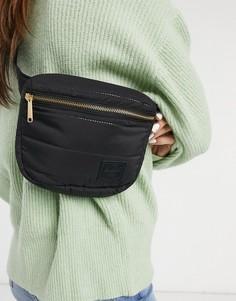 Черная сумка-кошелек на пояс Herschel Supply Co.-Черный