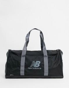 Черная спортивная сумка New Balance-Черный