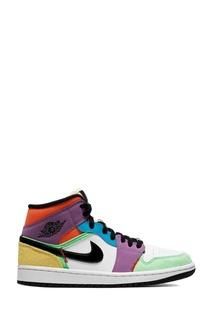 Кроссовки Nike Air Jordan 1 Mid SE Multi-Color (W)