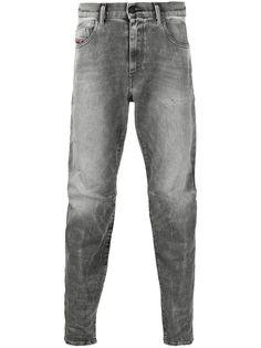 Diesel зауженные джинсы средней посадки