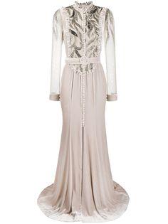 Parlor вечернее платье с пайетками