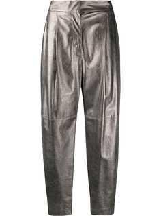 Brunello Cucinelli зауженные брюки с завышенной талией