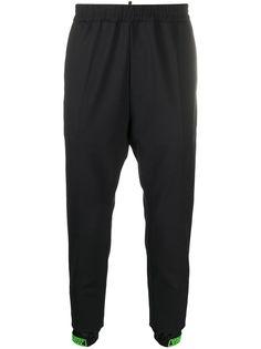 Dsquared2 зауженные брюки с логотипом