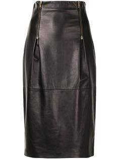 Versace юбка-карандаш с завышенной талией