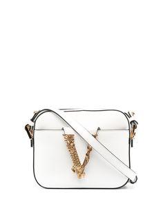 Versace каркасная сумка Virtus