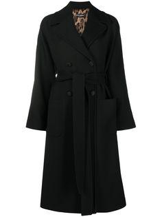 Dolce & Gabbana двубортное пальто с поясом