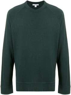 James Perse футболка тонкой вязки с длинными рукавами