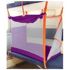 Манеж для поезда Manuni М-001 фиолетовый