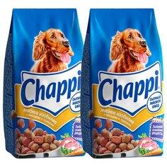 Сухой корм для собак Chappi Мясное изобилие 2шт. х 15 кг