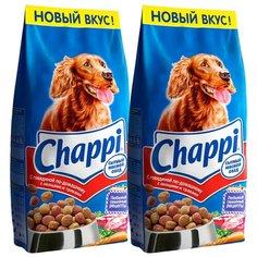 Сухой корм для собак Chappi говядина 2шт. х 15 кг