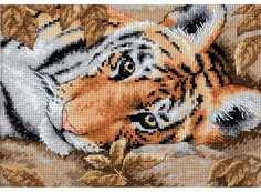 """Набор для вышивания Dimensions """"Притягательный тигр"""""""