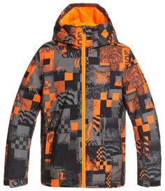 Куртка Сноубордическая Quiksilver 2020-21 Morton Youth Shocking Orange Radpack Возраст:14