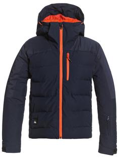 Куртка Сноубордическая Quiksilver 2020-21 The Edge Navy Blazer (Возраст:8)
