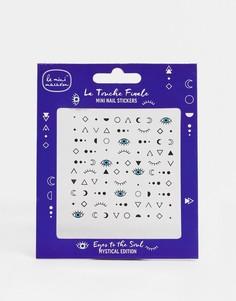Маленькие стикеры для ногтей Le Mini Macaron - Eyes to Soul-Многоцветный