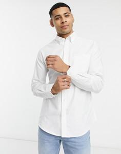 Оксфордская рубашка с длинными рукавами Ben Sherman-Белый