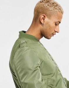 Зеленая куртка-бомбер Azat Mard-Зеленый цвет
