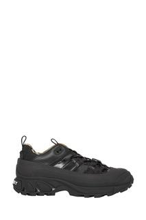 Черные комбинированные кроссовки Arthur Burberry