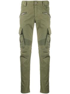 Balmain зауженные брюки карго
