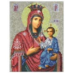 Вышиваем бисером Набор для вышивания бисером Иверская икона Божией Матери 26 х 20 см (L-55)