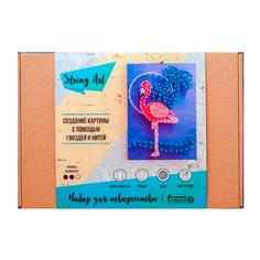 Набор для творчества стринг арт Фламинго String Art Lab