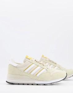 Бежевые кроссовки adidas Originals ZX-Бежевый