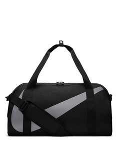 Черная спортивная сумка-бочонок Nike-Черный