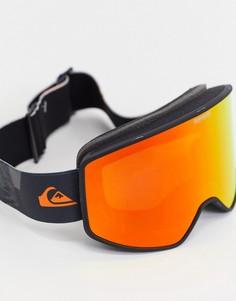 Оранжевые горнолыжные защитные очки Quiksilver Storm Sportline-Оранжевый цвет