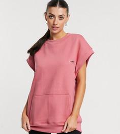 Oversized-свитшот без рукавов для дома от комплекта Loose Threads-Розовый цвет