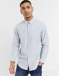 Оксфордская рубашка с длинными рукавами Ben Sherman-Серый