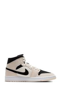 Кроссовки Nike Air Jordan 1 Mid Barely Orange (W)