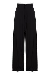 Прямые черные брюки Balenciaga
