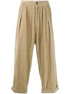 Mackintosh укороченные вельветовые брюки