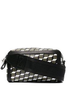 Pierre Hardy сумка через плечо с геометричным принтом