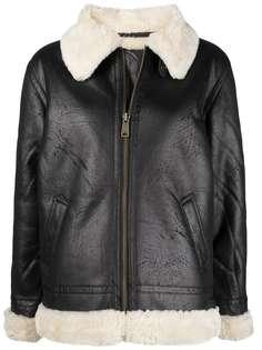 Alpha Industries куртка из шерпы