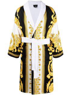 Versace Home халат с принтом Baroque