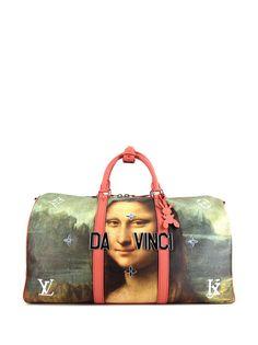 Louis Vuitton дорожная сумка Keepall 50 Mona Lisa pre-owned