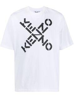 Kenzo футболка с короткими рукавами и логотипом