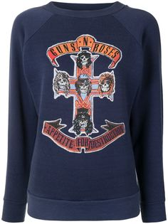GALLERY DEPT. толстовка Guns N Roses с круглым вырезом