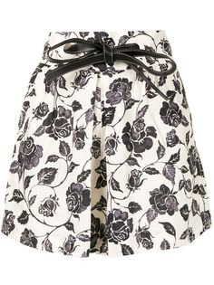 Zimmermann шорты The Lovestruck с цветочным принтом