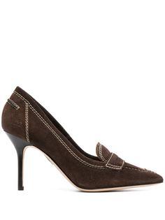 Dsquared2 туфли-лодочки с контрастной строчкой