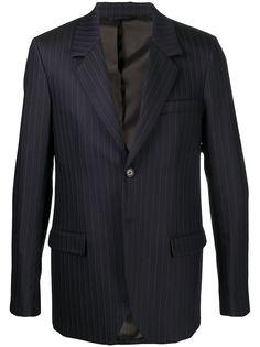 Acne Studios однобортный пиджак в тонкую полоску