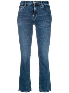 J Brand укороченные расклешенные джинсы Selena